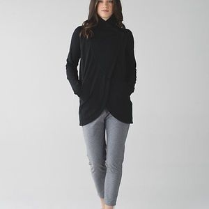 lululemon wrap rulu sweatshirt